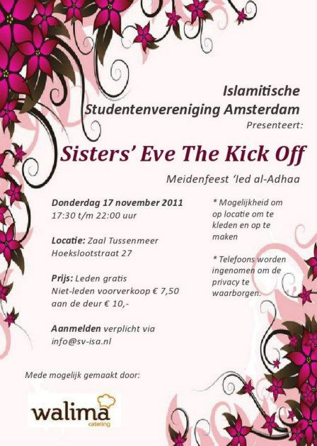 Sisters' Eve The Kick Off