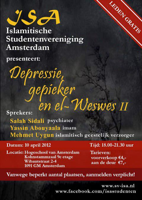 Depressie, gepieker & el-Weswes II