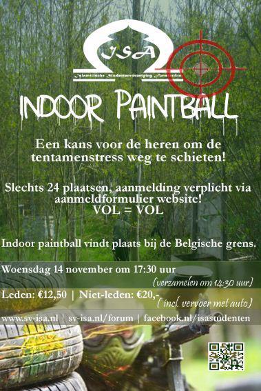 Indoor Paintball for Men