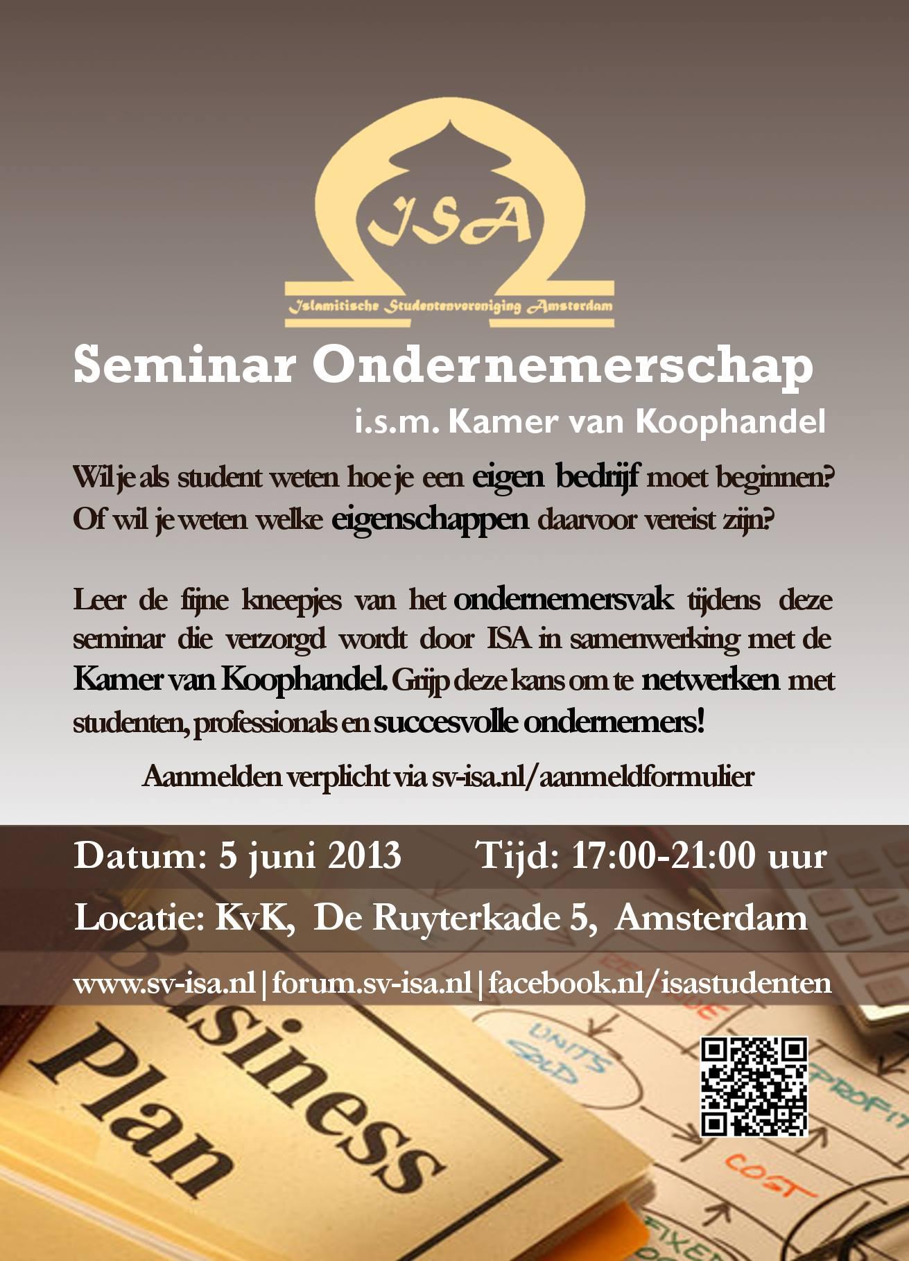 flyer-seminar-ondernemerschap