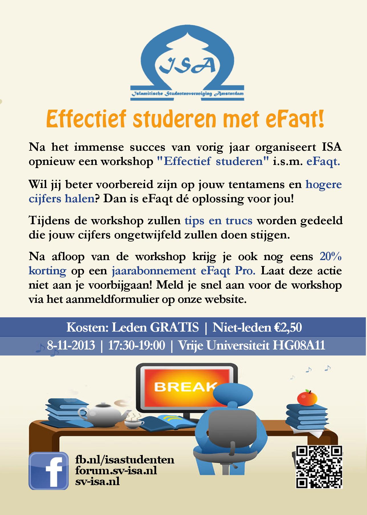 Interactieve workshop: effectief studeren!