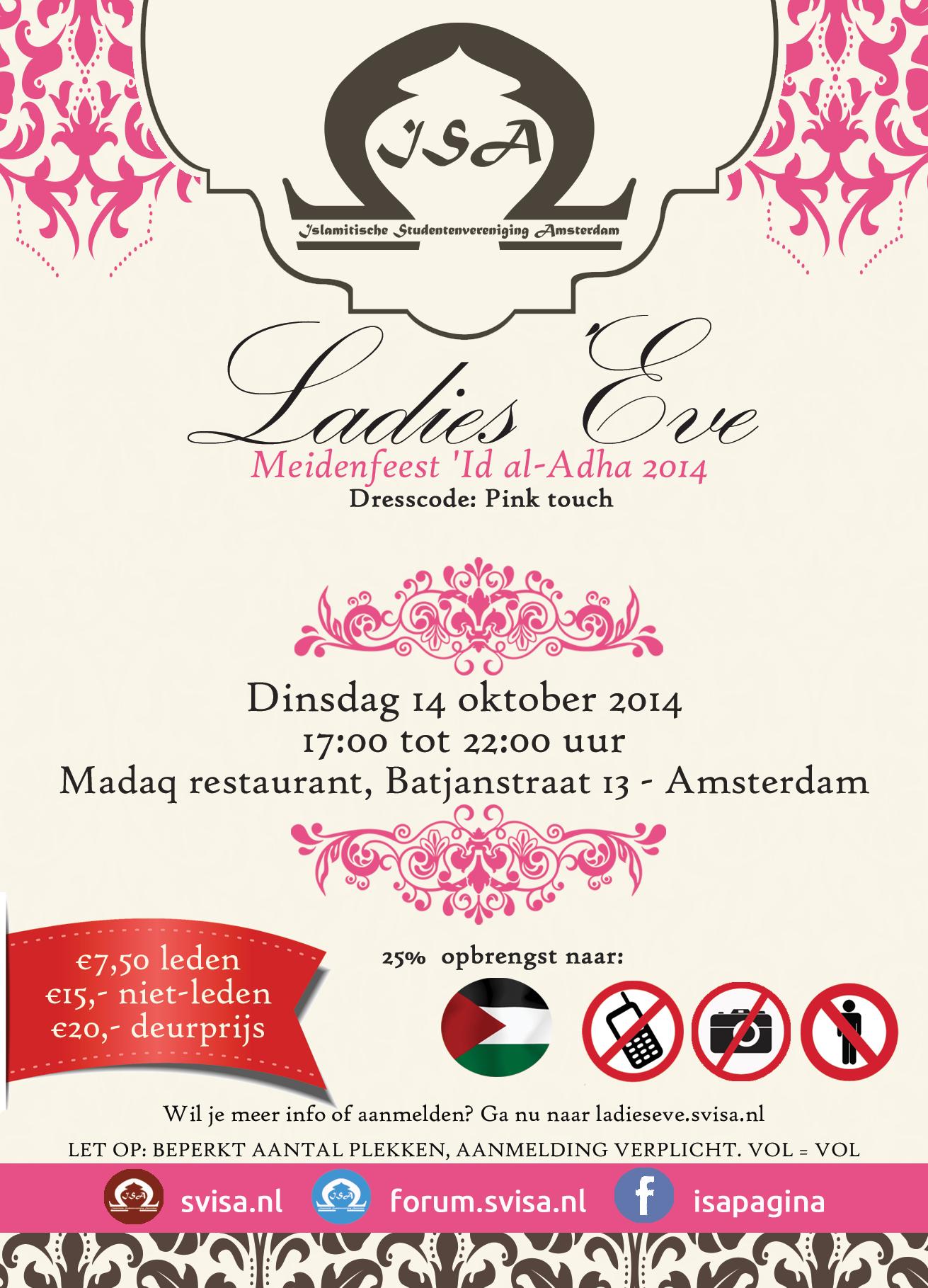 Ladies' Eve 2014: Meidenfeest 'Id al-Adha