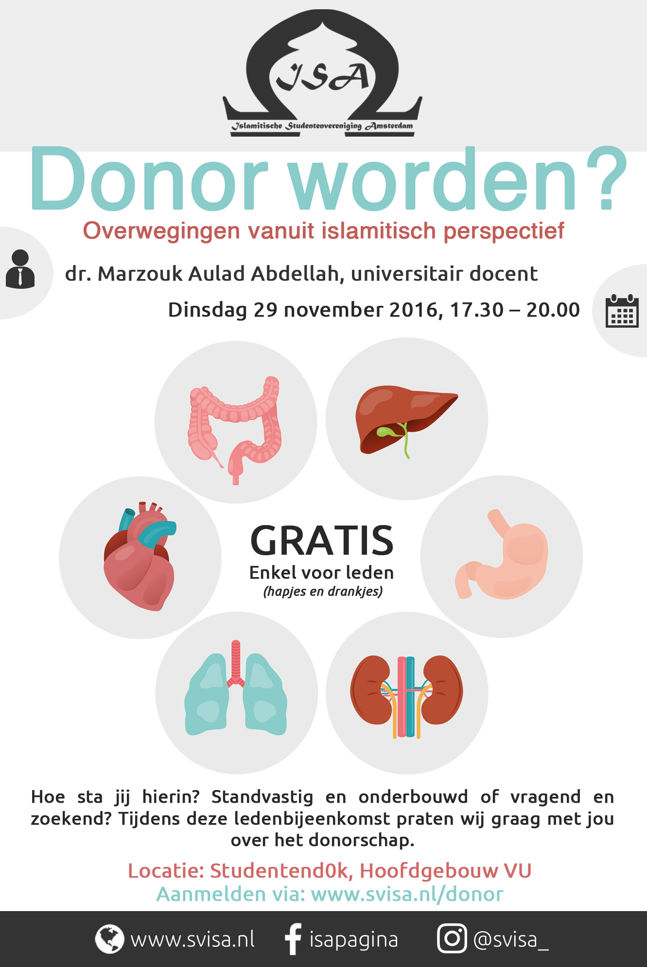 Ledenbijeenkomst: Donor worden?