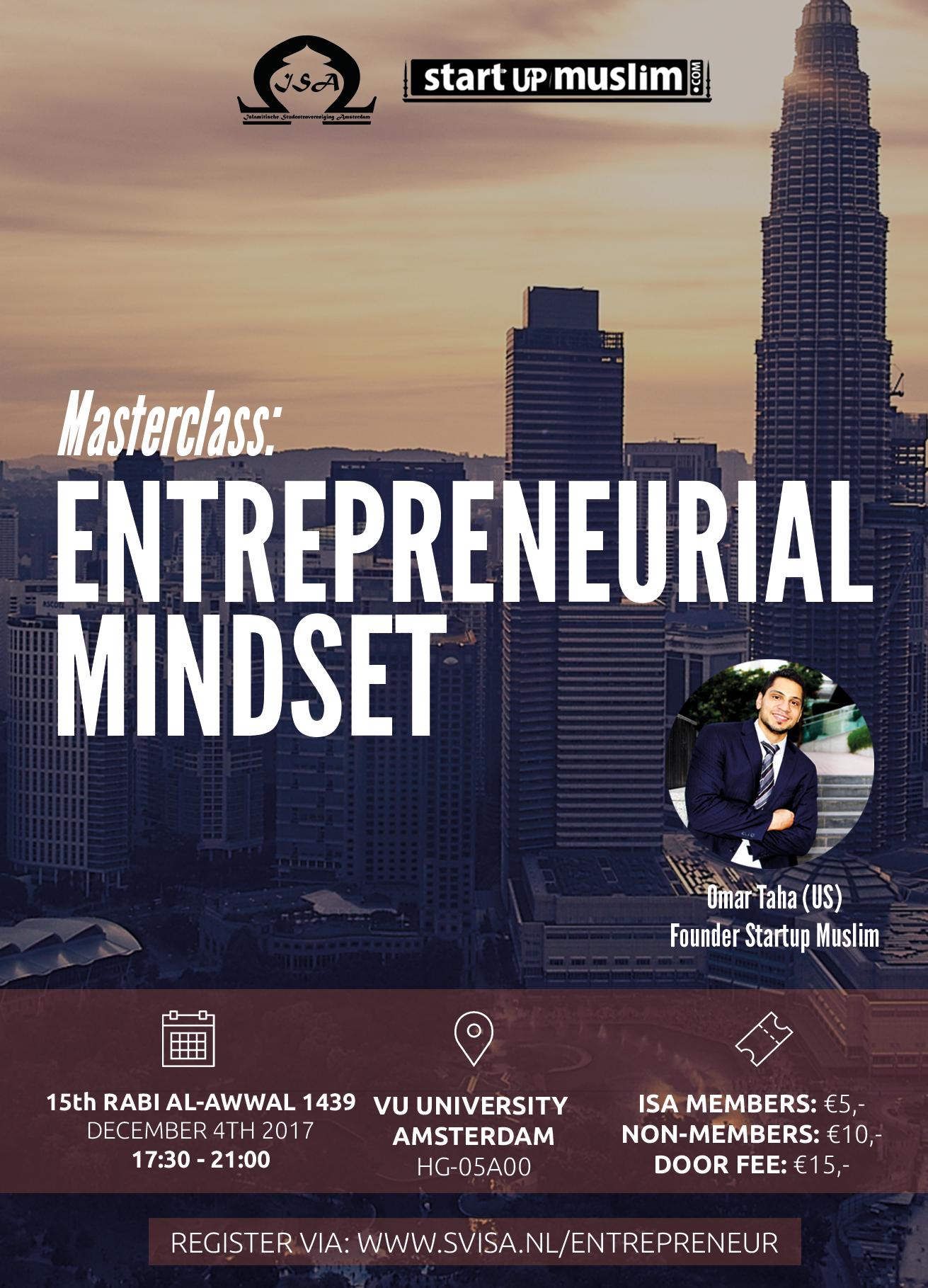 Masterclass: Entrepreneurial Mindset