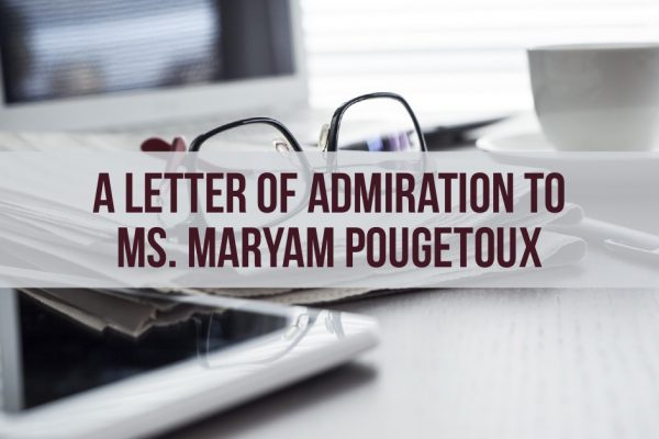 Letter to Maryam Pougetoux