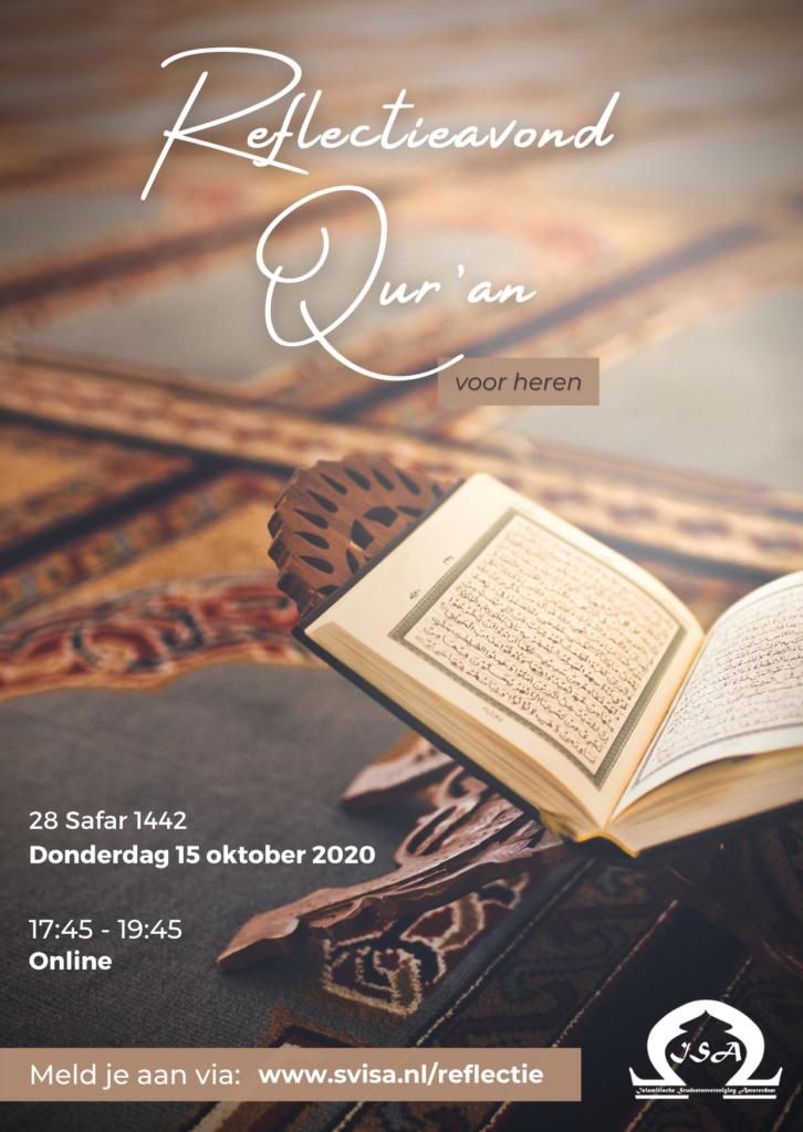 flyer-reflectieavond-quran